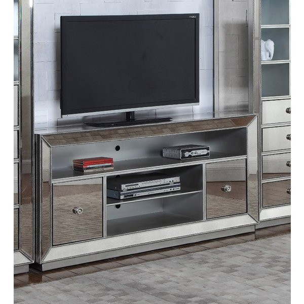 Most Up To Date Mirrored Tv Stands With Regard To Hollywood Mirrored Tv Stand (View 15 of 20)