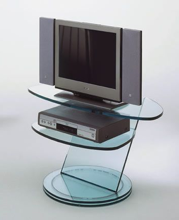 Most Up To Date Modern Glass Tv Stands From Tonelli Of Italy (View 2 of 20)