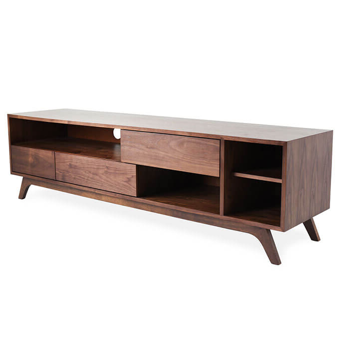 Most Up To Date Modern Tv Stands With Regard To Monroe Mid Century Modern Tv Stand (View 18 of 20)