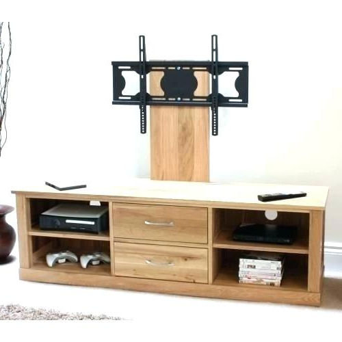 Most Up To Date Oak Tv Stands For Flat Screens Regarding Light Oak Tv Stand – Hairsalonstudio (View 2 of 20)
