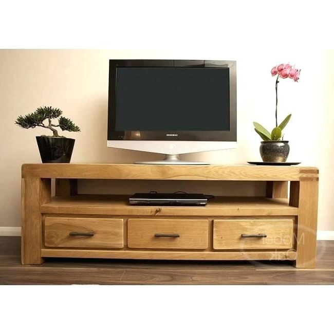 Most Up To Date Oak Tv Stands With Glass Doors Regarding Honey Oak Tv Stand Stand Of White Oak In A Warm Honey Finish Honey (View 14 of 20)
