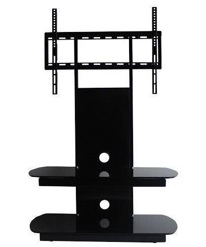 Most Up To Date Oval Glass Tv Stand Pertaining To Cantilever Glass Tv Stands (Gallery 7 of 20)