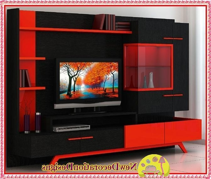 Most Up To Date Red Modern Tv Stand – Web Modern Throughout Red Modern Tv Stands (Gallery 5 of 20)
