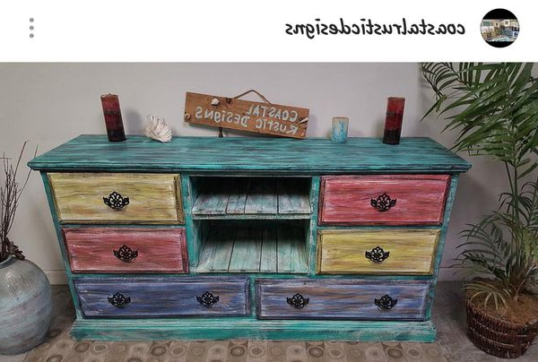 Most Up To Date Rustic Tv Stands For Sale Regarding Seaside Rustic Tv Stand/buffet Console/sideboard For Sale In (View 9 of 20)