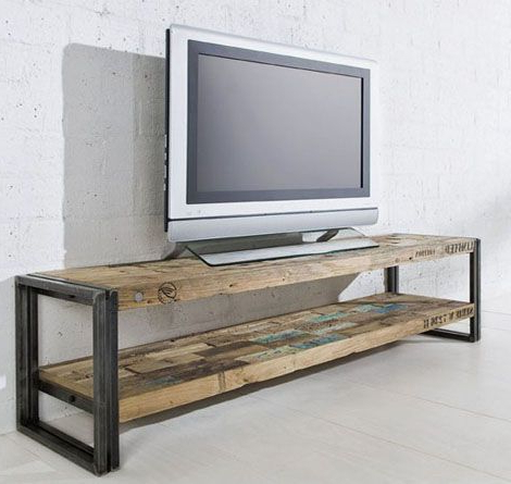 Most Up To Date Shabby Chic Furniture Great Idea For A Sleek Tv Stand (View 2 of 20)