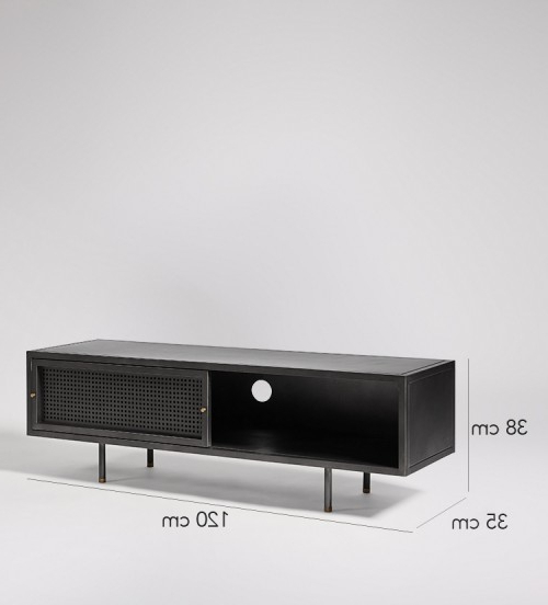 Most Up To Date Sheffield Gunmetal & Brass Media Unit (View 10 of 13)