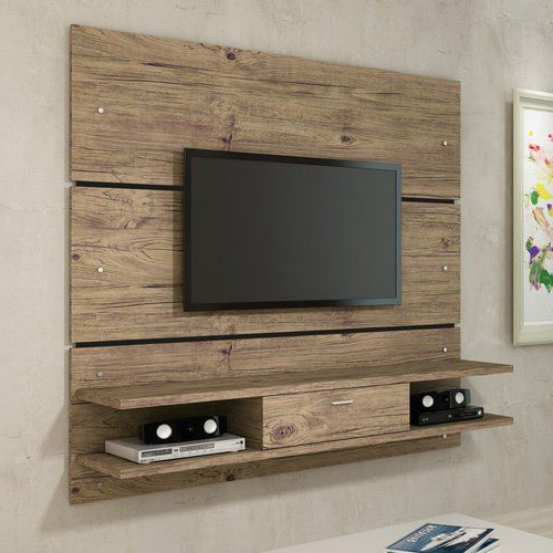 Most Up To Date Tv Entertainment Unit For 18 Chic And Modern Tv Wall Mount Ideas For Living Room (View 8 of 20)