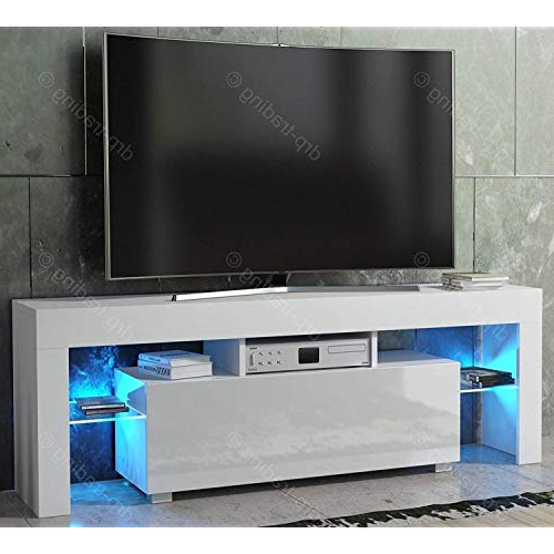 Most Up To Date White High Gloss Tv Cabinets: Amazon.co (View 12 of 20)