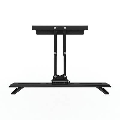 Mount It Universal Tabletop Tv Stand And Av Media Fixed Desktop Pertaining To Most Popular Mayfield Plasma Console Tables (View 14 of 20)