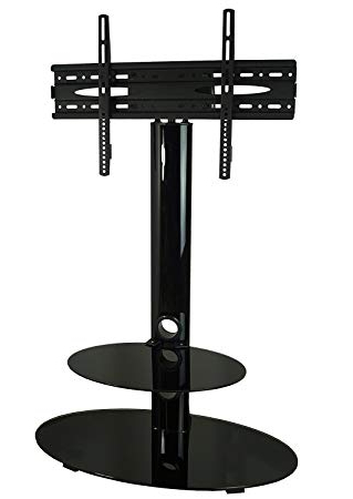 Mountright Cs001 Gloss Tv Stand With Swivel Mount Bracket For 32 Up For Latest Tv Stands With Bracket (View 9 of 20)
