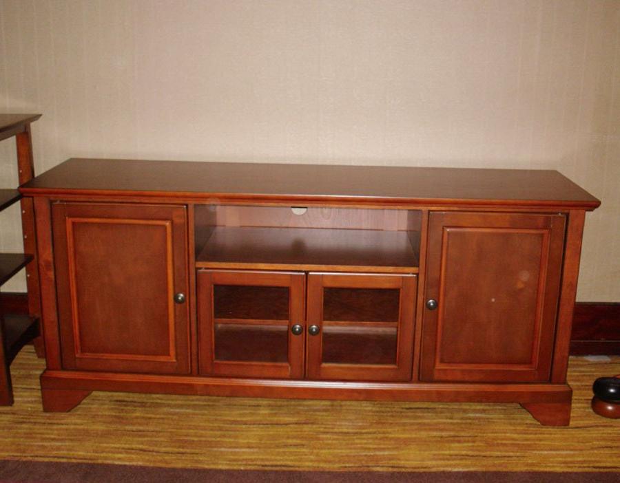 Mx 6505 Wooden Tv Cabinet,glass Door Tv Stand,media Stand – Buy Inside Current Wooden Tv Stands With Doors (View 12 of 20)