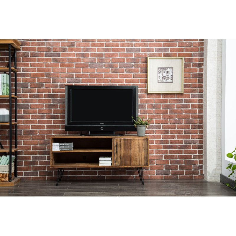 Natural Reclaimed Wood 50 Inch Tv Stand  Brixton (Gallery 12 of 20)