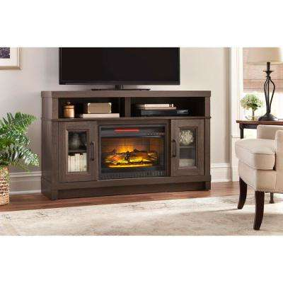 Natural Wood Mirrored Media Console Tables Regarding Well Liked Tv Stands – Living Room Furniture – The Home Depot (View 13 of 20)