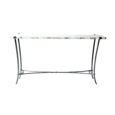 Newest 60 Console Table Console Table Console Table With Marble Top In With Silviano 60 Inch Iron Console Tables (Gallery 18 of 20)