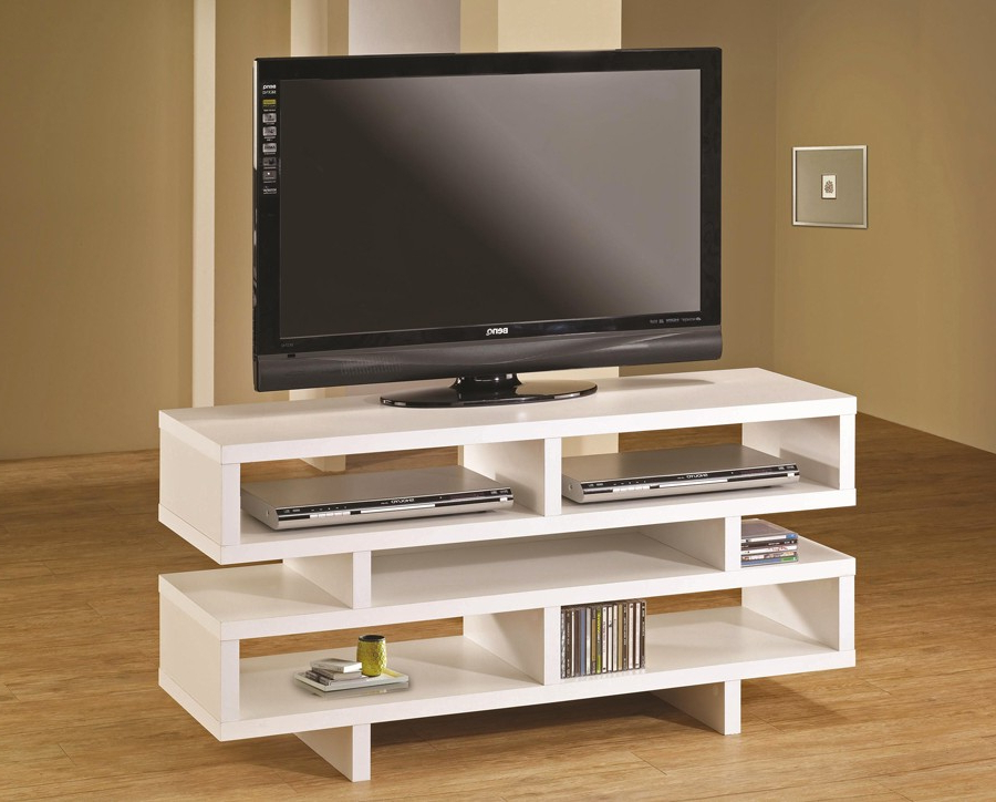 Newest Century White 60 Inch Tv Stands For Simple Tv Stand Throughout Modern Tv Prepare 19 – Fmsuperestrella (View 8 of 20)