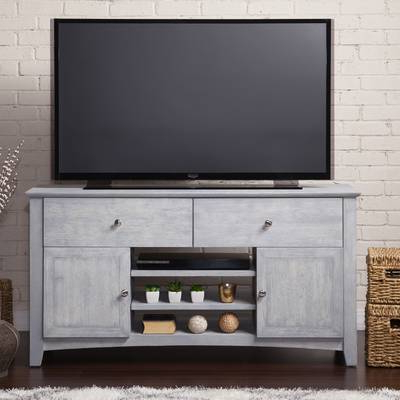 "Newest Edwin Grey 64 Inch Tv Stands Intended For Angelo:home Tv Stand For Tvs Up To 65"" & Reviews (Gallery 20 of 20)"
