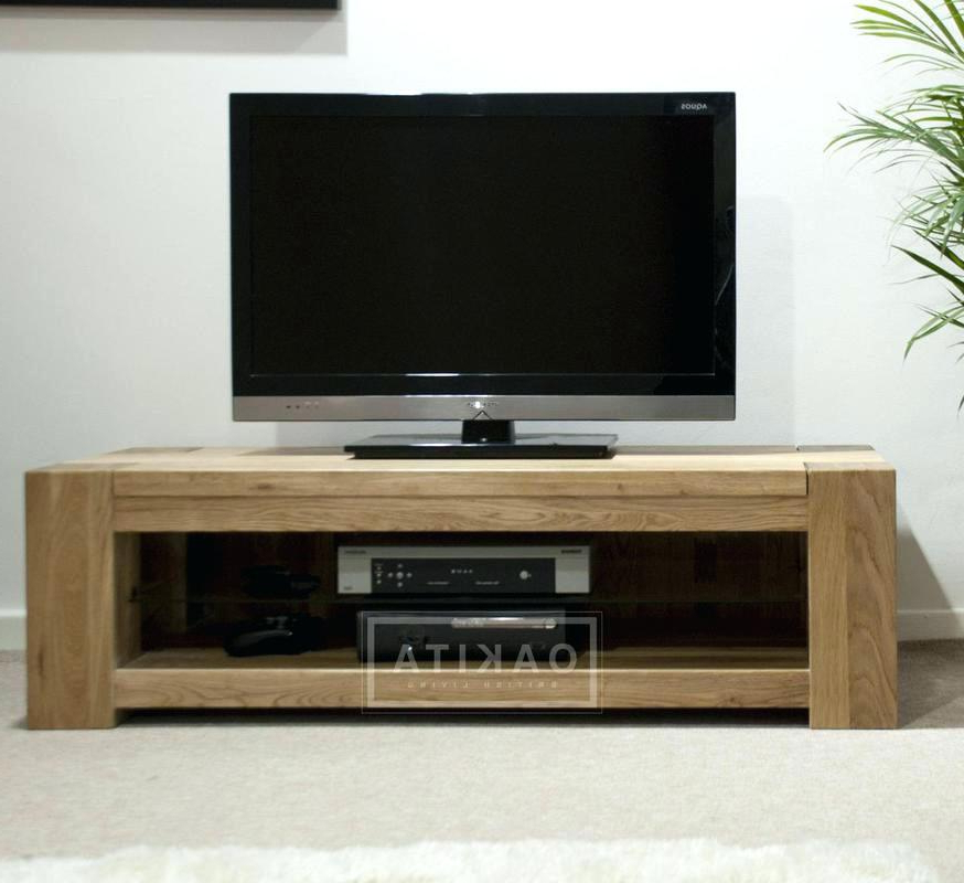 Newest Low Tv Stand Chic Oak Cabinet St Wide Stands Entertainment Sauder Regarding Low Tv Stands And Cabinets (Gallery 7 of 20)