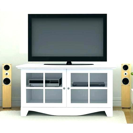Newest Tv Cabinets With Glass Doors With Regard To Tv Stand With Mirror Doors – Kingofbeasts (View 3 of 20)