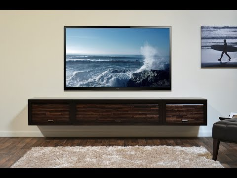 Newest Wall Mount Tv Stand With Shelf – Youtube With Regard To Wall Mounted Tv Stands For Flat Screens (Gallery 16 of 20)
