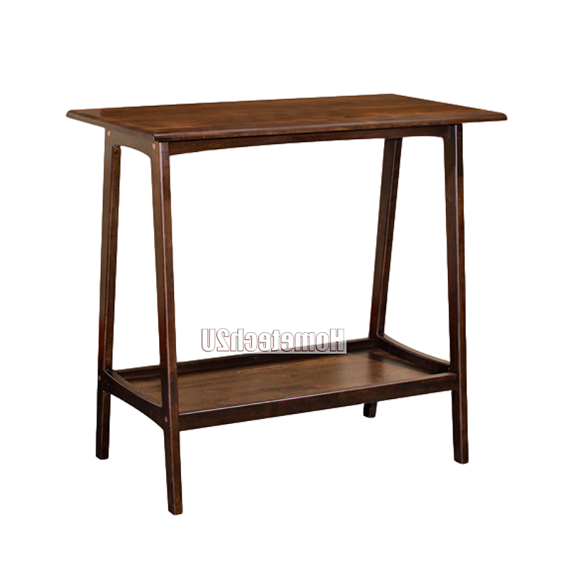 Newest Wooden Decoration Side Table Wood Console Table Decor Console Table Desk With Regard To Echelon Console Tables (View 16 of 20)