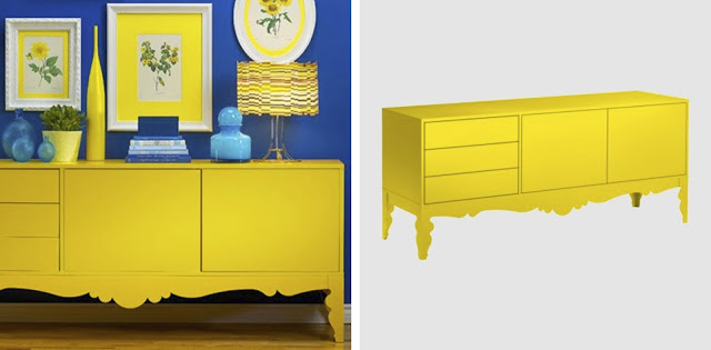 Newest Yellow Tv Stands In Vintage Minded Maven : New Tv Stand Upcycled Furnishings (View 18 of 20)