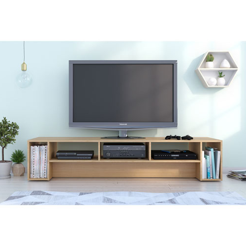 "Nexera Rustik 80"" Tv Stand – Natural Maple : Tv Stands – Best Buy Canada With Regard To Most Up To Date Maple Tv Stands For Flat Screens (View 12 of 20)"