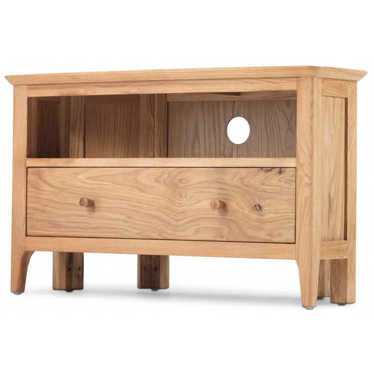 Oak Furniture Throughout Well Known Wood Corner Tv Cabinets (View 14 of 20)