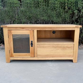 Oak Furniture Tv Stands For Popular Solid Oak Furniture Natural Color Wood Tv Stand Tv Cabinet – Buy (View 12 of 20)
