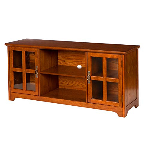 Oak Tv Stands For Flat Screen: Amazon Throughout Current Oak Tv Stands For Flat Screens (View 8 of 20)