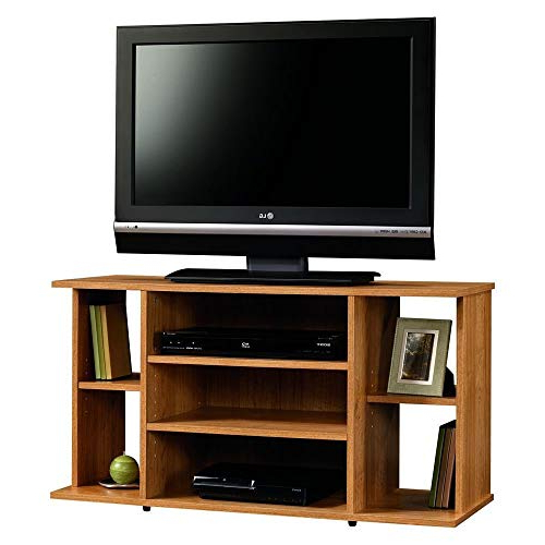Oak Tv Stands Intended For Latest Oak Tv Stand: Amazon (Gallery 17 of 20)
