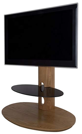 "Oak Veneer Tv Stands With Regard To Trendy Chepstow Real Oak Veneer Tv Stand 40 42 46 47 50 52"": Amazon.co.uk (Gallery 3 of 20)"
