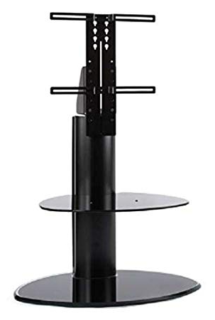 Off The Wall Tv Stands Throughout 2017 Off The Wall Motion Cantilever Tv Stand – Black: Amazon.co (View 11 of 20)