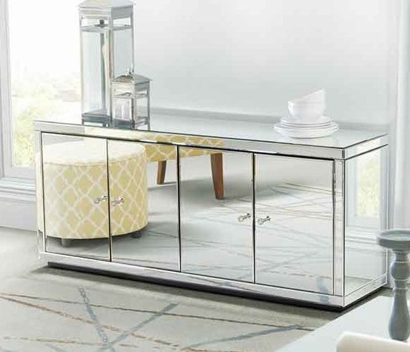 Offex Futura Black Silver Steel Glass Tv Stand Free Shipping Within Most Recent Silver Tv Stands (Gallery 10 of 20)