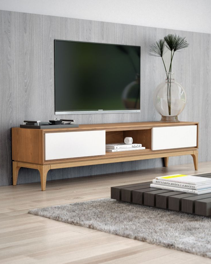 Office Decor With Favorite Contemporary Modern Tv Stands (View 3 of 20)