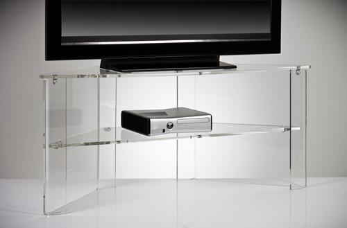 Office Design Gallery – The Best Offices On Regarding Clear Acrylic Tv Stands (Gallery 4 of 20)