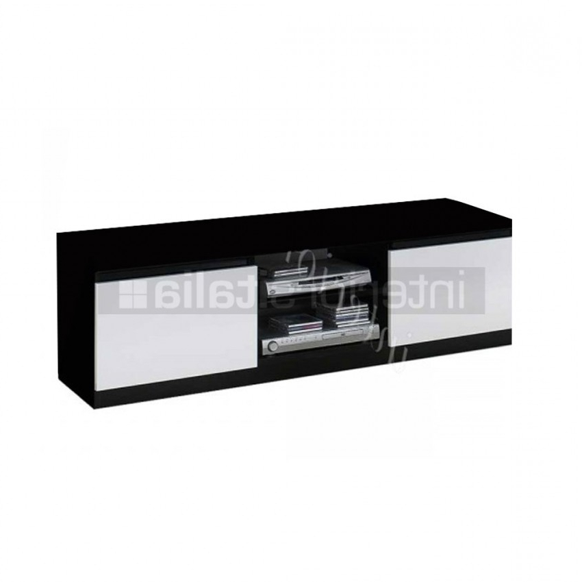 On Sale Regarding White And Black Tv Stands (Gallery 8 of 20)