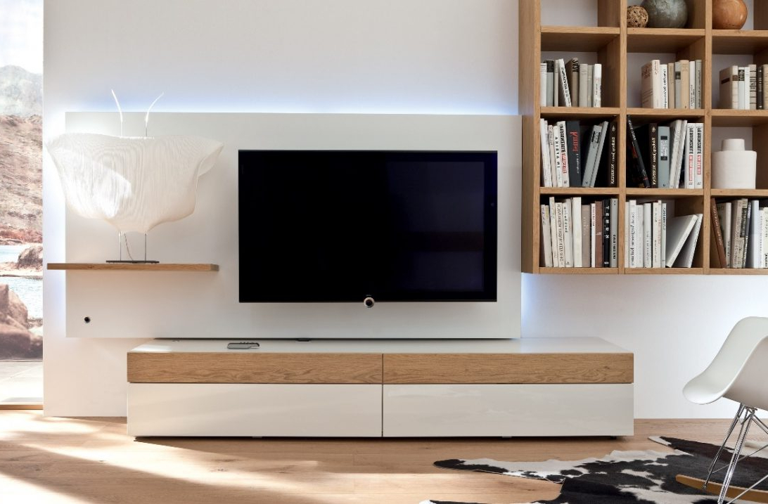 On The Wall Tv Units Pertaining To 2018 Simple Wall Tv Stand Cabinet Mounted Design Units Best – Buyouapp (Gallery 20 of 20)