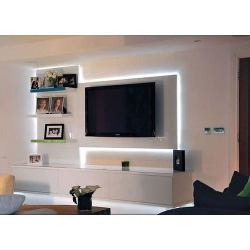 On The Wall Tv Units Within Fashionable Wall Mounted Tv Unit At Rs 20000 /piece (Gallery 7 of 20)