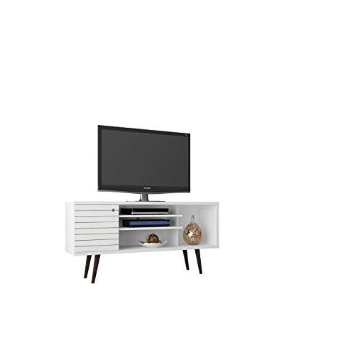 Open Shelf Tv Stand: Amazon Inside 2018 Kenzie 60 Inch Open Display Tv Stands (View 17 of 20)