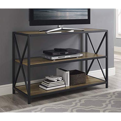 Open Shelf Tv Stands Throughout Current Open Shelf Tv Stand: Amazon (Gallery 12 of 20)