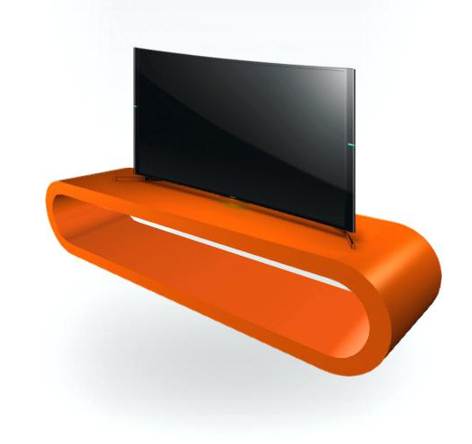 Orange Tv Stands In Most Popular Orange Tv Stand Stand Entertainment Console Orange And White Tv (Gallery 5 of 20)