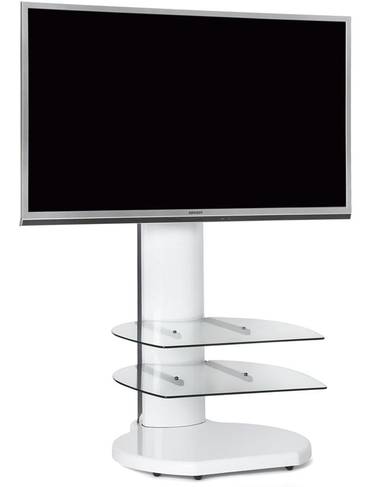 Origin Ii S4 White Cantilever Tv Stand Regarding Most Recent White Cantilever Tv Stands (View 4 of 20)