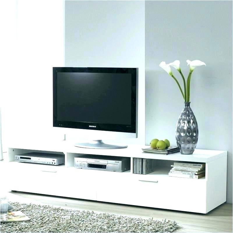 Oval White Tv Stands With Most Recent White Tv Stand White Stand White Stand Long White Stand Main Image (Gallery 15 of 20)
