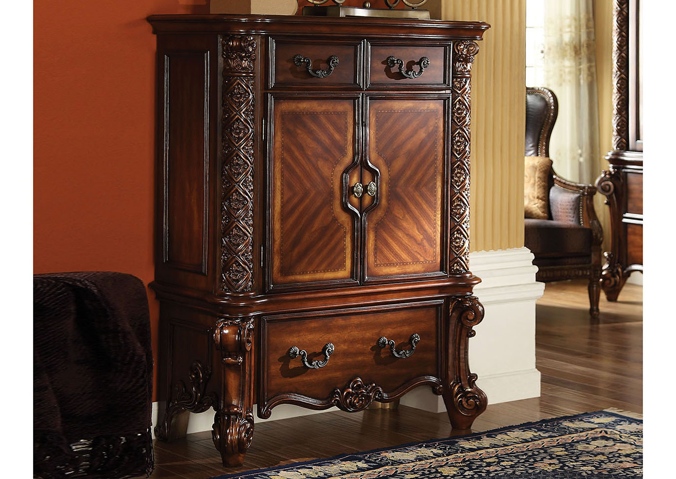 Overstock Furniture – Langley Park, Catonsville, Alexandria & Lanham Pertaining To Trendy Cherry Tv Armoire (View 20 of 20)