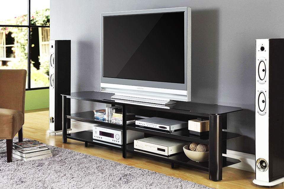 Oxford 60 Inch Tv Stands Inside Well Known Innovex Home Products (Gallery 5 of 20)