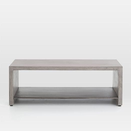 Parsons Concrete Top & Elm Base 48x16 Console Tables Throughout Popular Concrete Top Console Table (View 18 of 20)