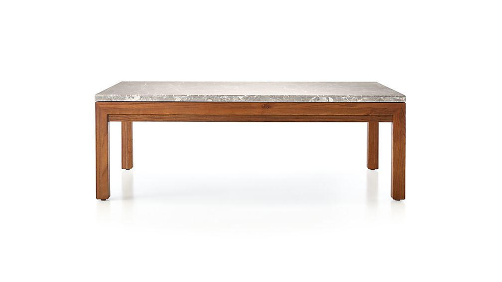 Parsons Grey Solid Surface Top & Dark Steel Base 48X16 Console Tables Throughout Preferred Parsons Grey Marble Top/ Elm Base 48X28 Small Rectangular Coffee (View 13 of 20)