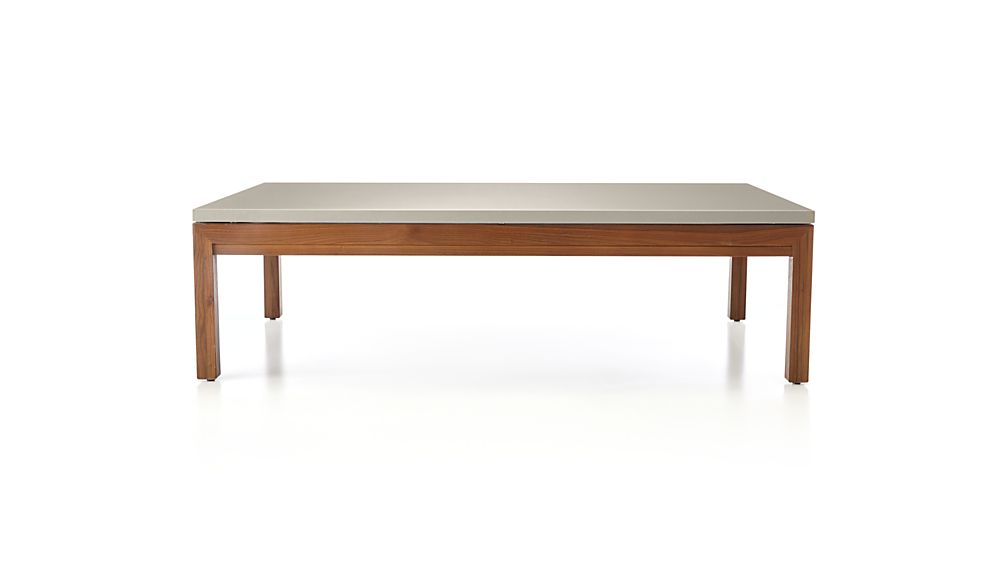 Parsons Travertine Top & Stainless Steel Base 48X16 Console Tables Pertaining To Fashionable Parsons Grey Solid Surface Top/ Elm Base 60X36 Large Rectangular (View 12 of 20)