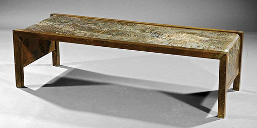 Philip And Kelvin Laverne: Bright Ideas In Heavy Metal Regarding Newest Phillip Brass Console Tables (View 10 of 20)
