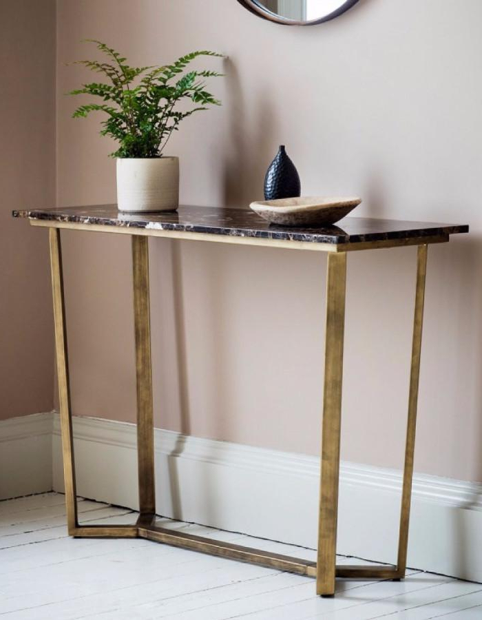 Phillip Brass Console Tables With Widely Used Brass Console Table Cool Phillip Reviews Crate And Barrel Decorating (View 15 of 20)